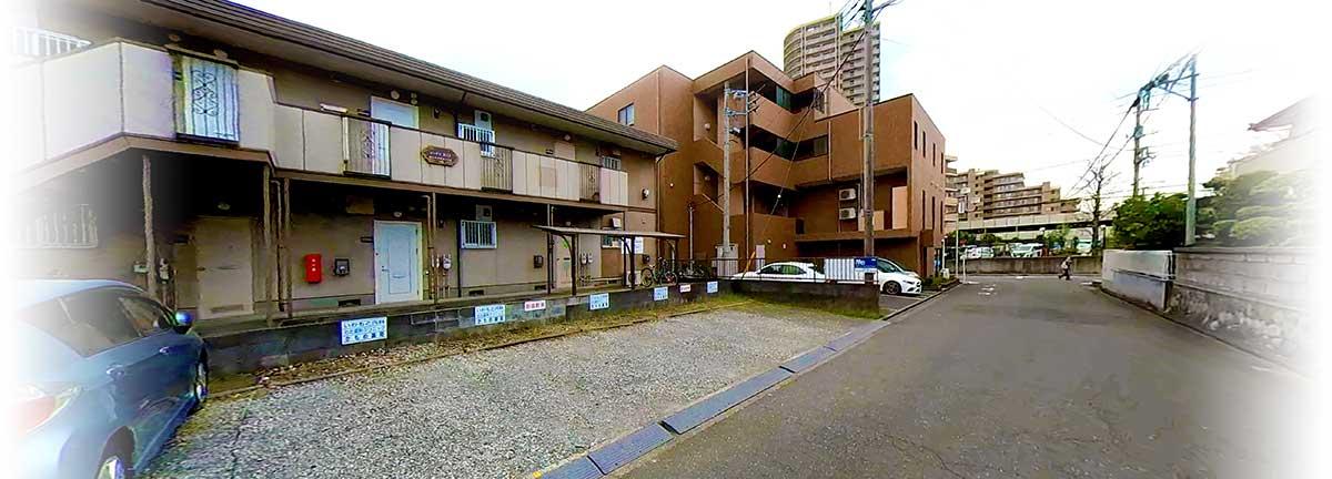 藤沢市湘南台駅いわもと内科の駐車場